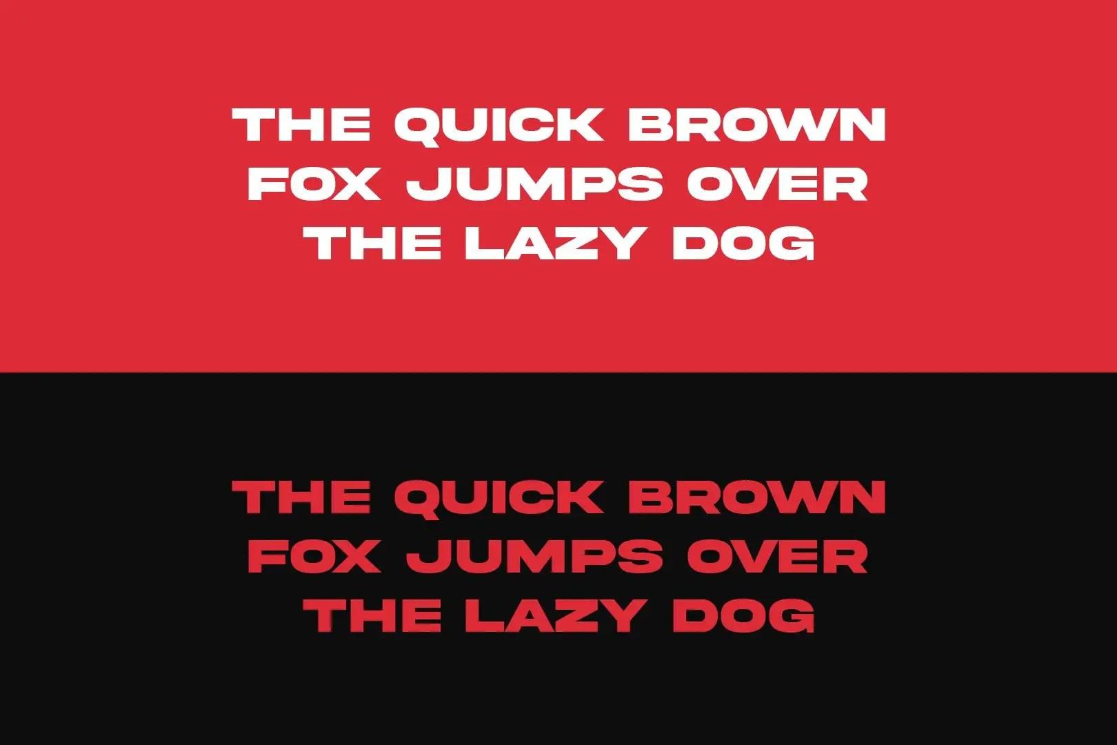 Akira Expanded Sans Serif Font-2