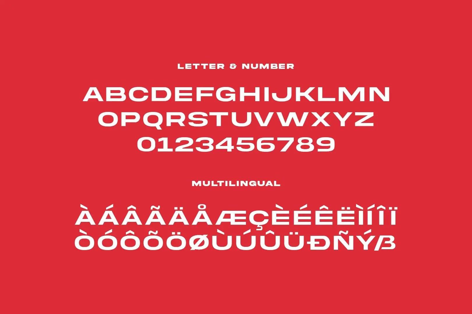 Akira Expanded Sans Serif Font-3