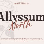 Allyssum North Font Duo
