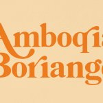 Amboqia Boriango Serif Display Font
