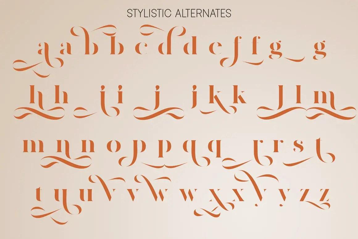 Amigh Modern Serif Font-4