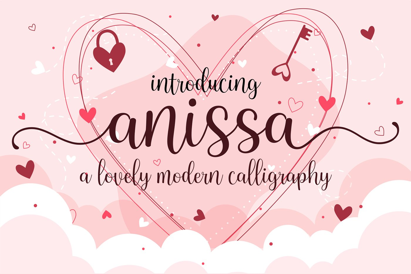 Anissa Lovely Modern Calligraphy Script Font-1