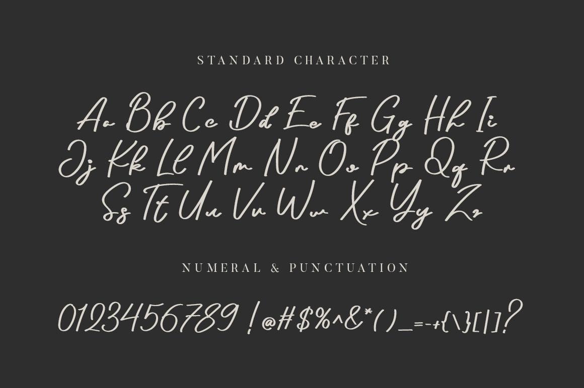 Arthens Bold Signature Script Font-3