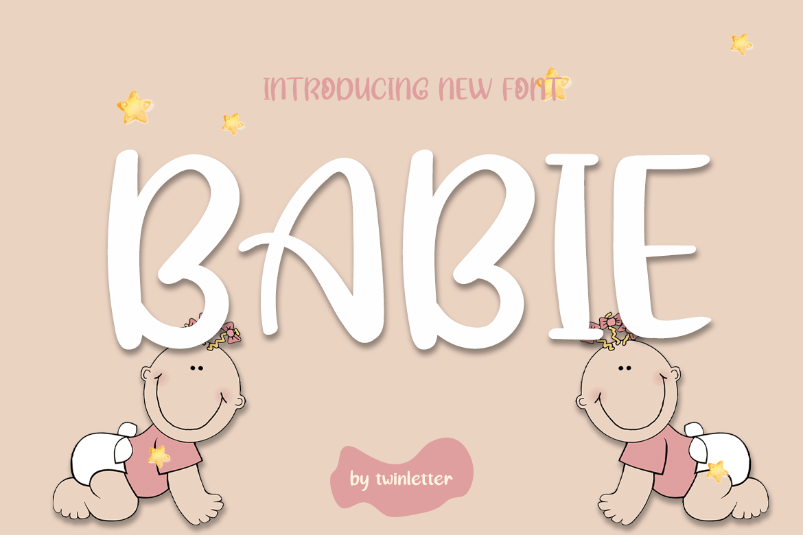 Babie Display Font-1