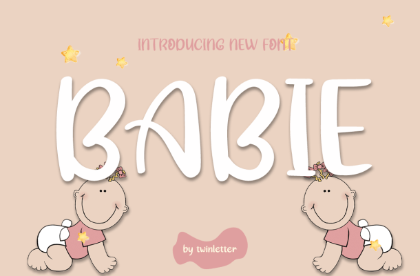 Babie Display Font