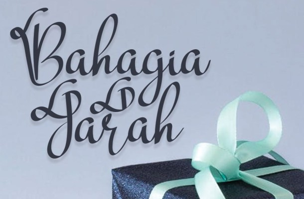 Bahagia Jarah Display Font