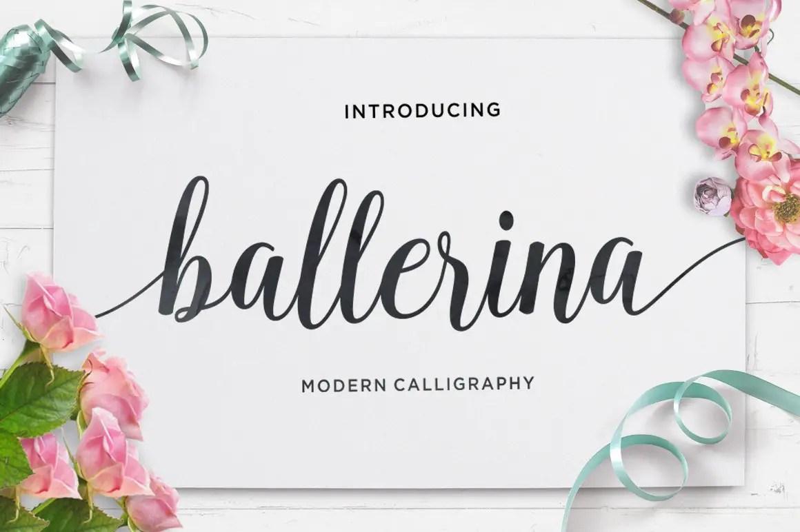 Ballerina Calligraphy Script Font-1