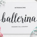 Ballerina Calligraphy Script Font