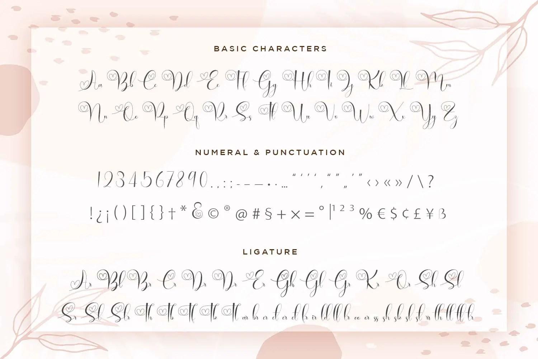 Brilganttyne Calligraphy Script Font-3