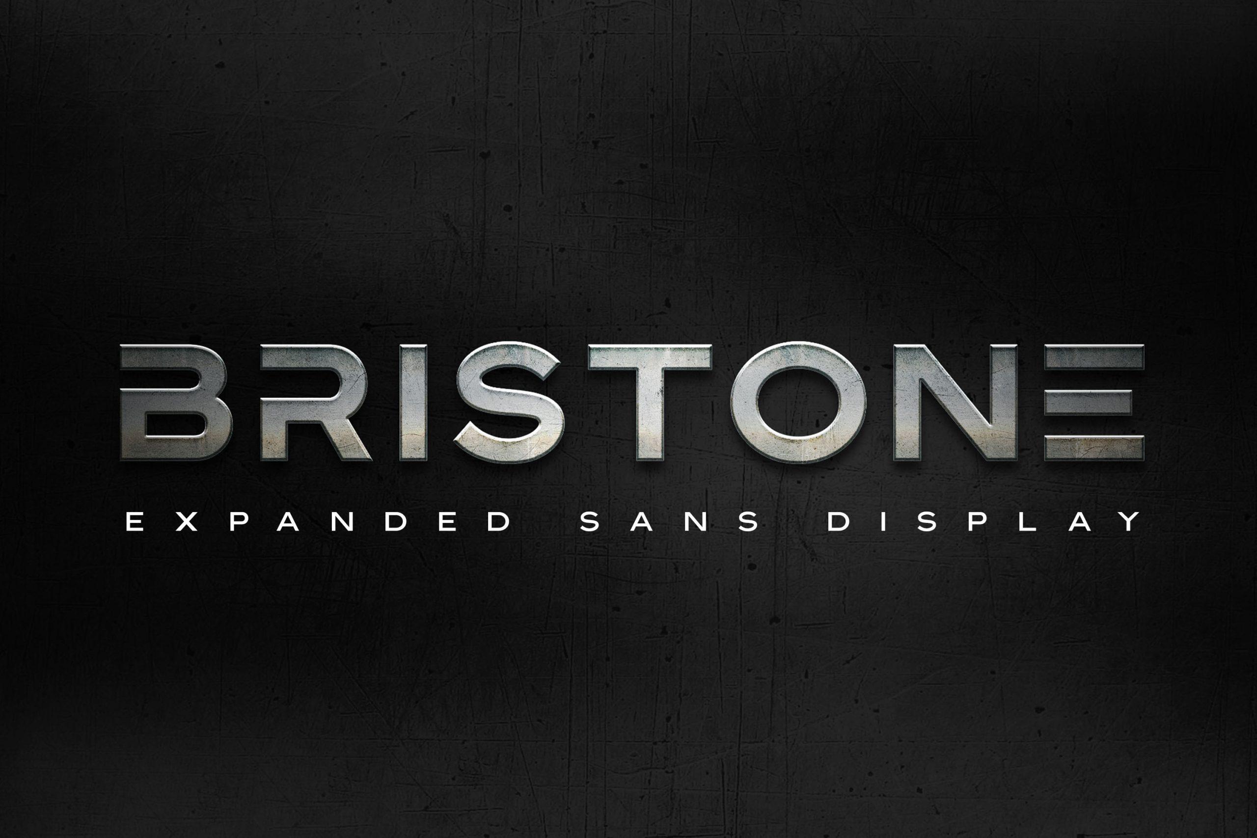 Bristone Sans Display Typeface-1