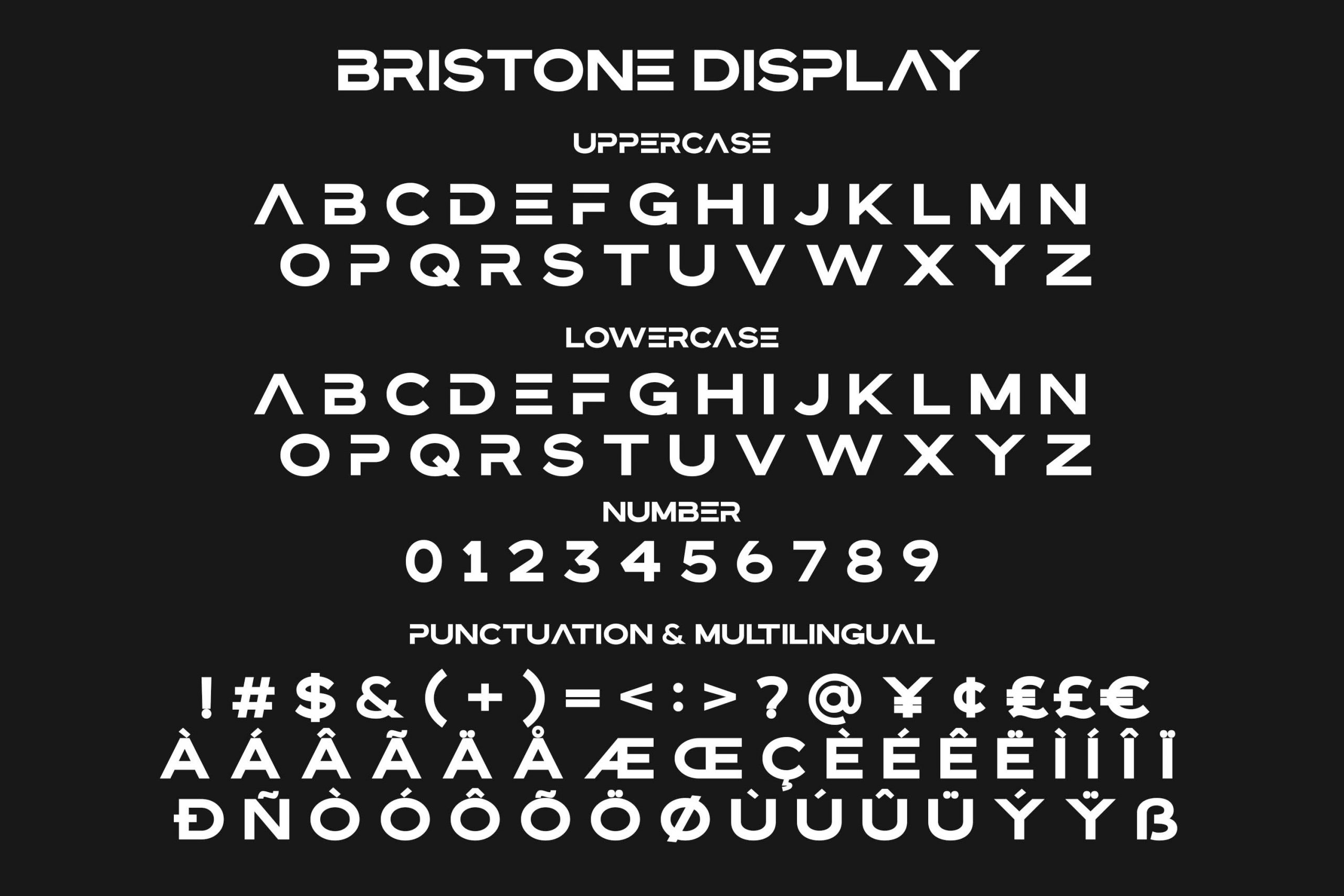 Bristone Sans Display Typeface-3