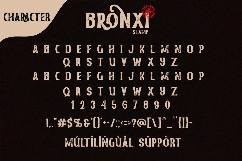 Bronxi Vintage Sans Font Family-4
