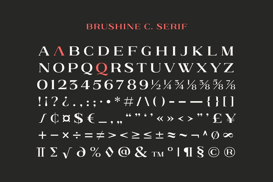 Brushine Collective Display Font Duo-3