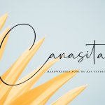 Canasita Handwritten Script Font
