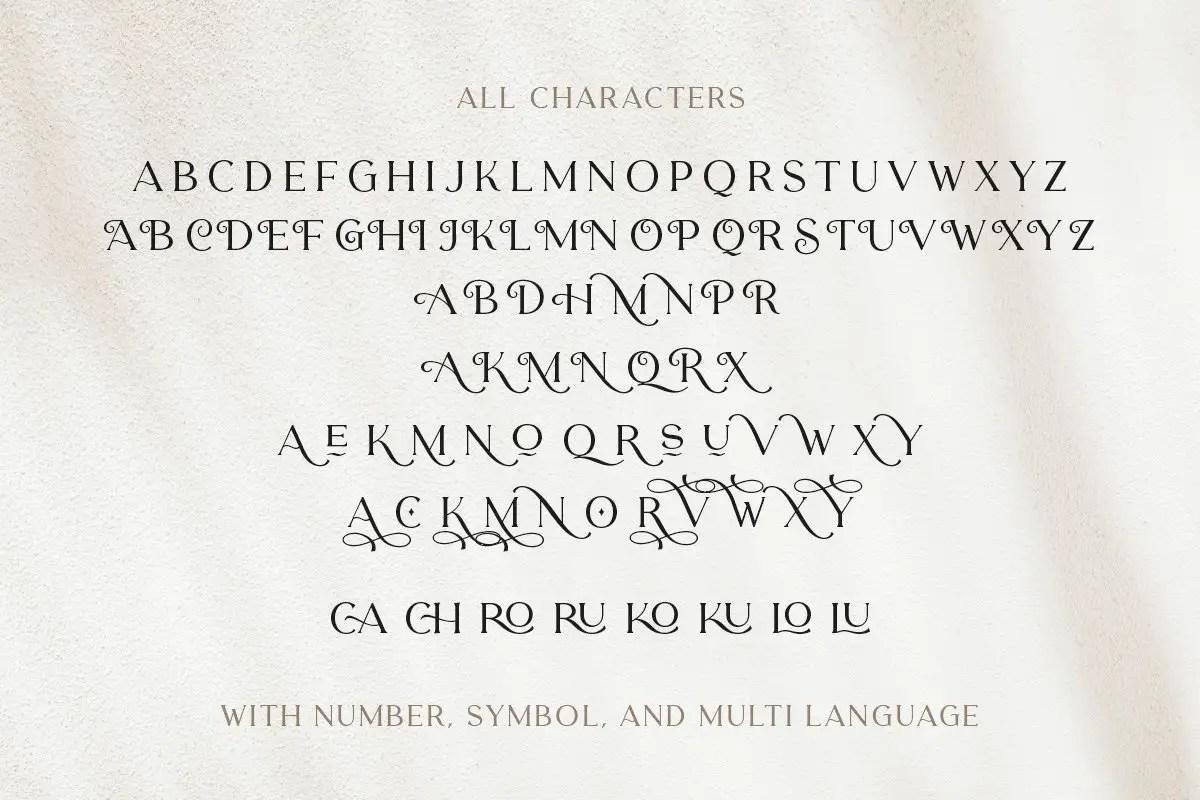 Carentro Classy Serif Typeface-3