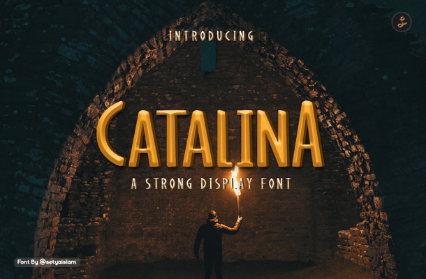 Catalina Display Font