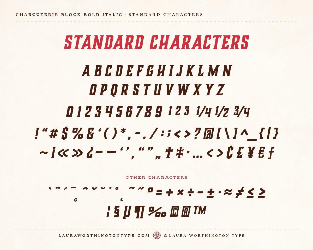 Charcuterie Collection Serif Font-3