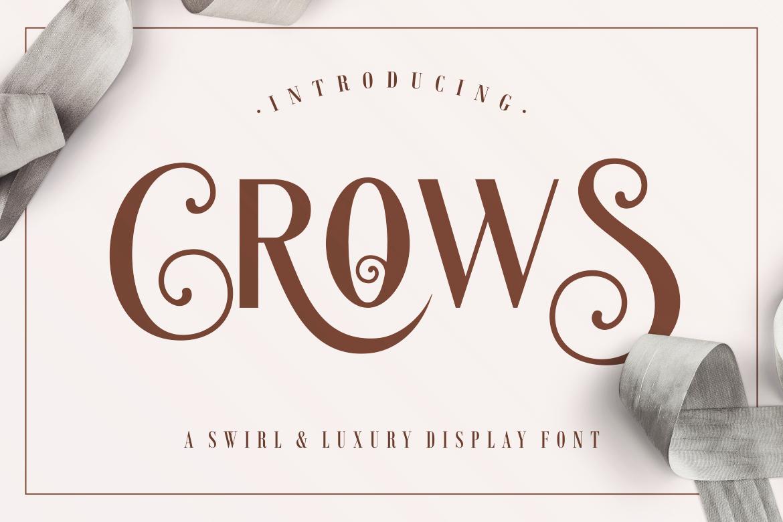 Crows Sans Serif Font-1