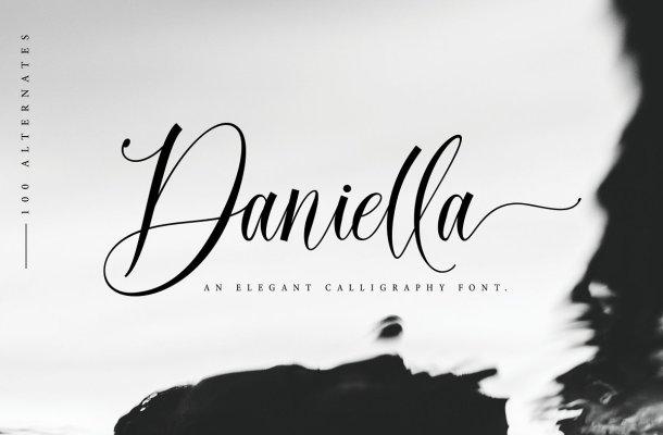 Daniella Script Calligraphy Font