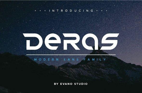 Deras Modern Sans Font Family