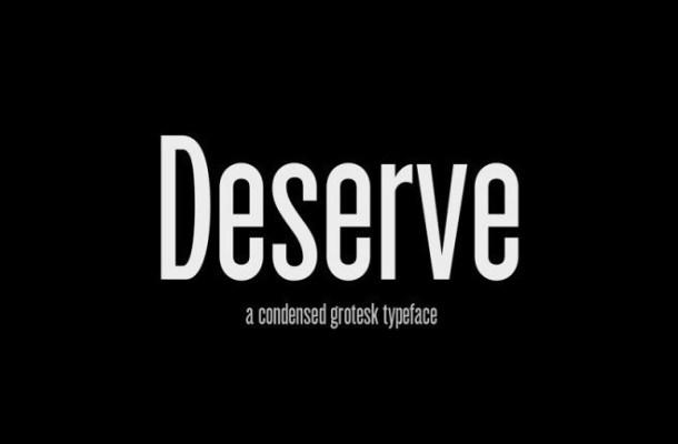 Deserve Sans Serif Font