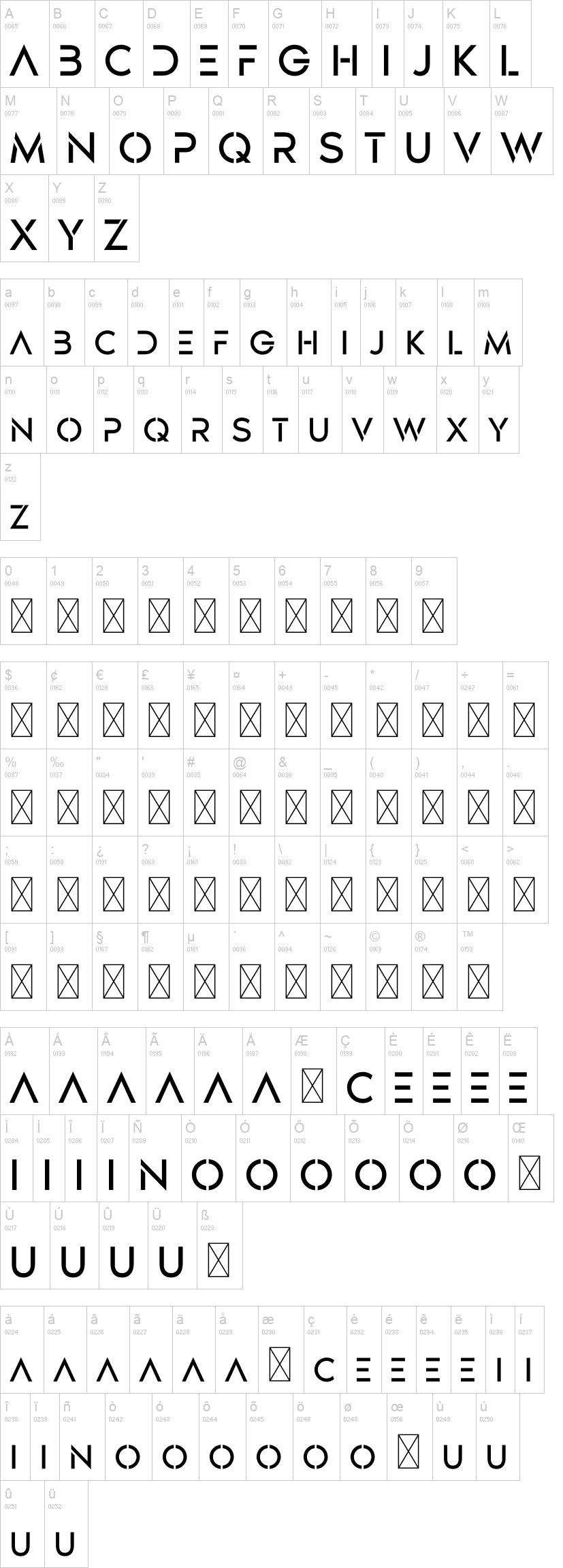 Designer Basic Font-2