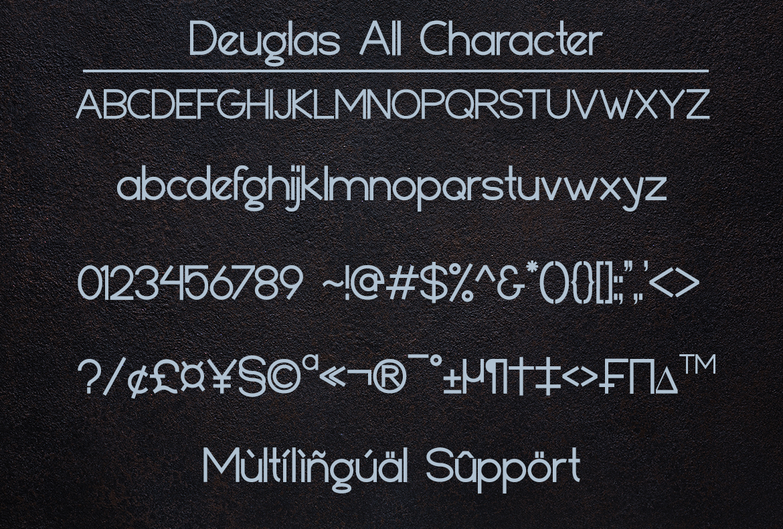 Deuglas Modern Sans Serif Font-3