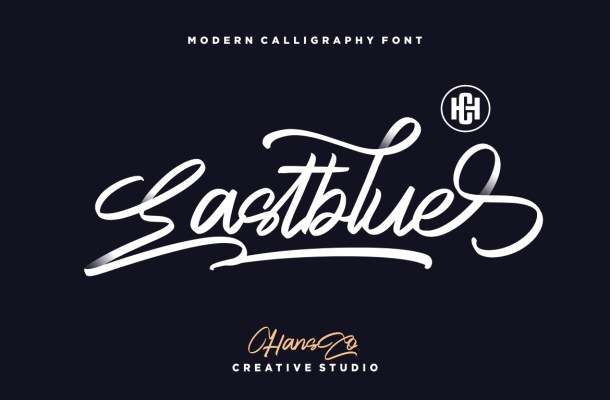 Eastblue Script Handwritten Font
