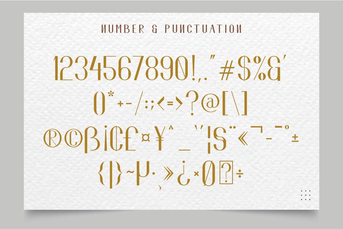 El Fonte Sans Serif Elegant Typeface-4