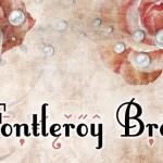 Fontleroy Brown Fancy Font