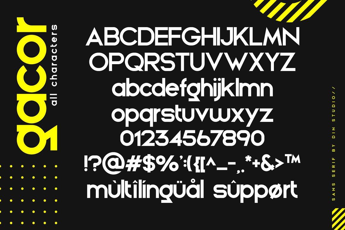 Gacor Urban Sans Serif Font-4