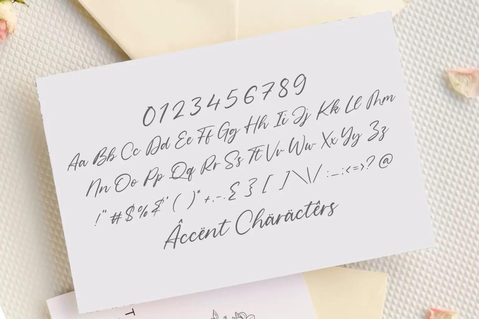 Geraldo Island Modern Handwritten Script Font-3