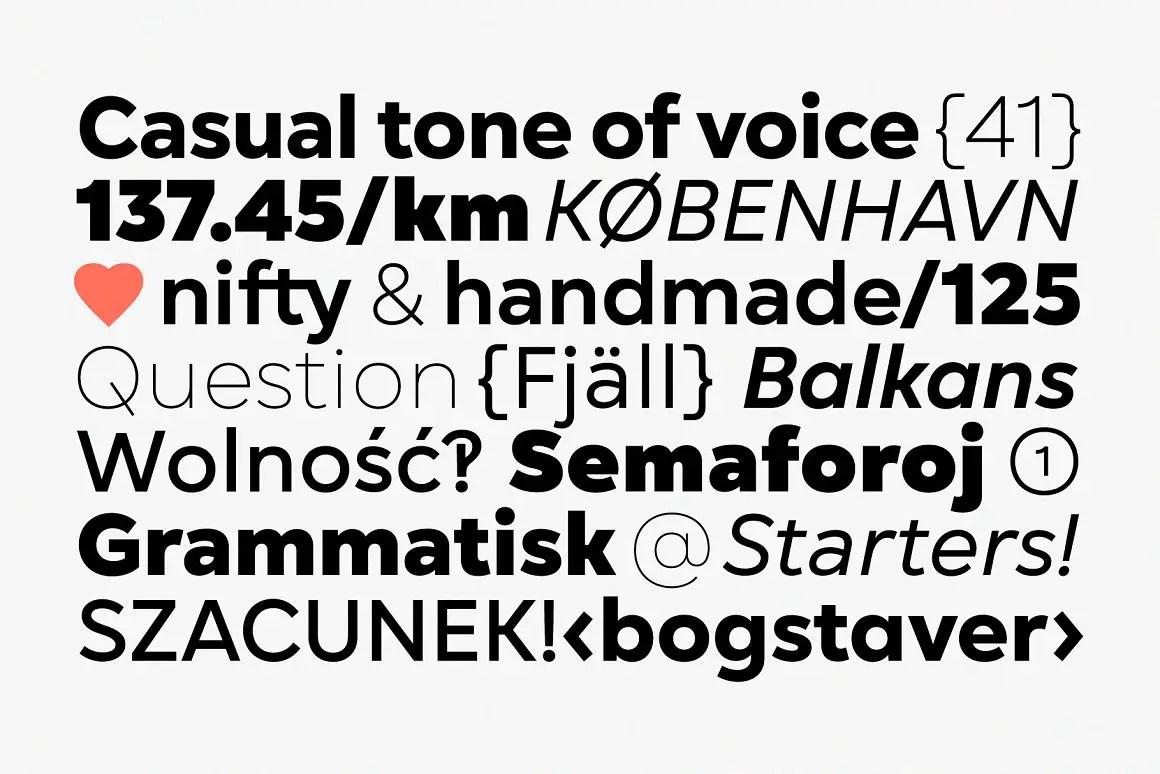 Gogh Geometric Sans Serif Typeface-3