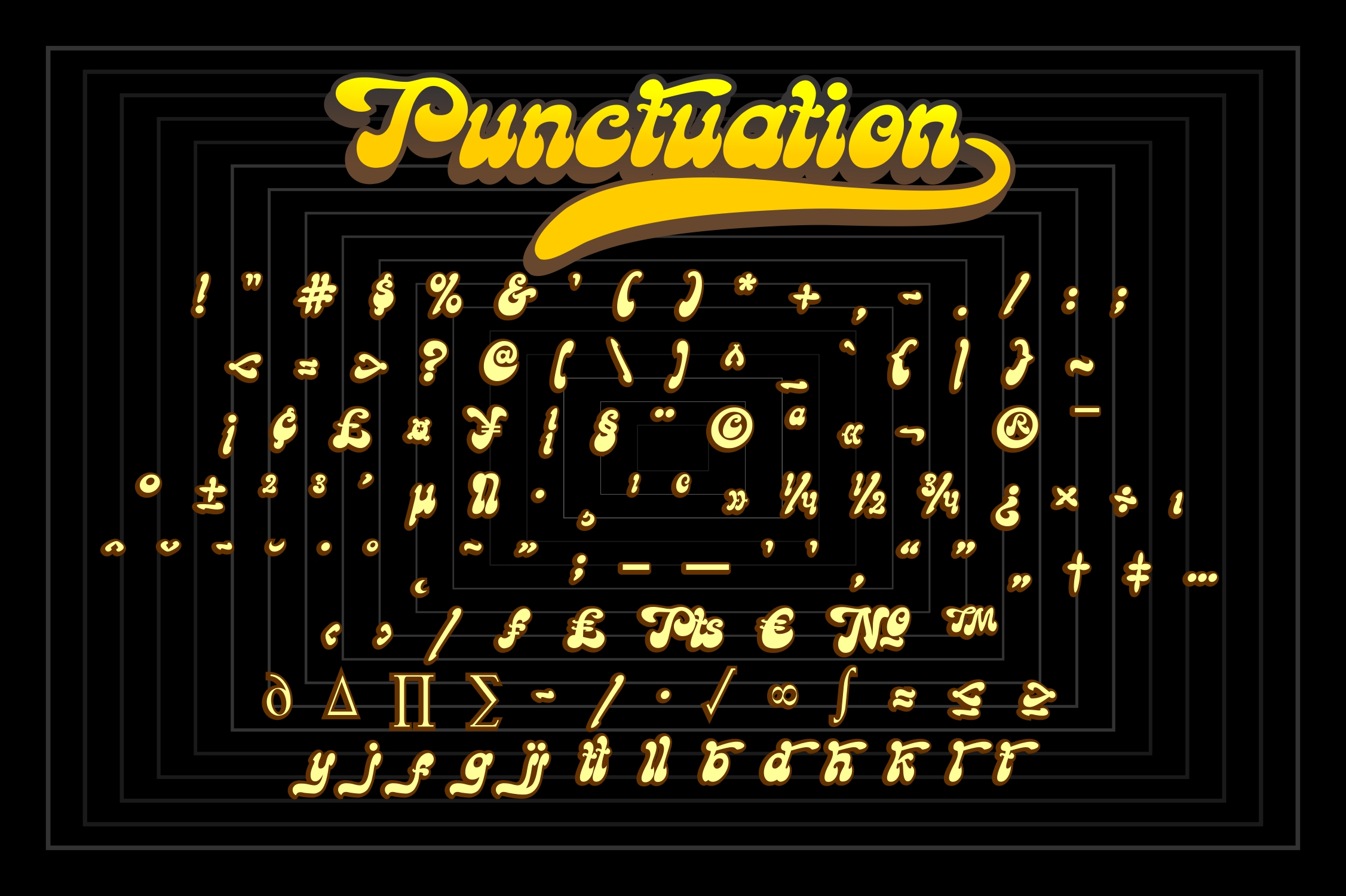 Goodbees Display Font-3