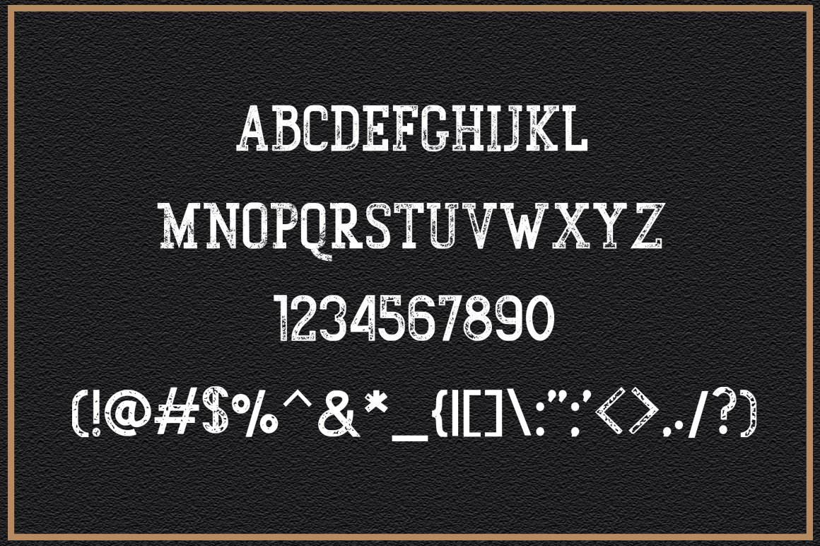 Gunberg Slab Serif Font-3