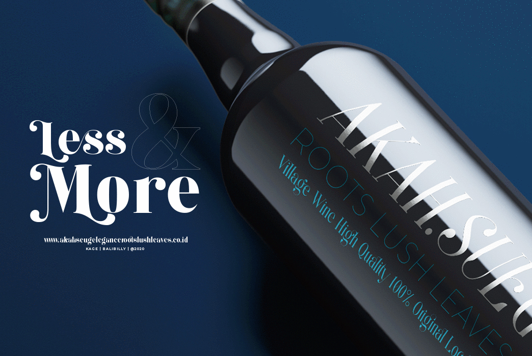 Kage An Elegant Serif Typeface-2