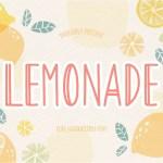 Lemonade Handwritten Font