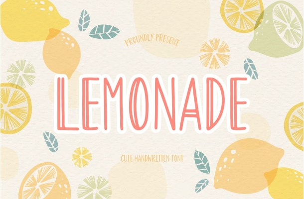 Lemonade Handwritten Font