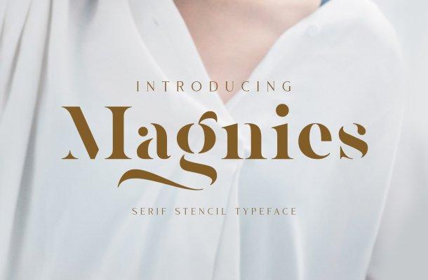 Magnies Minimal Serif Font