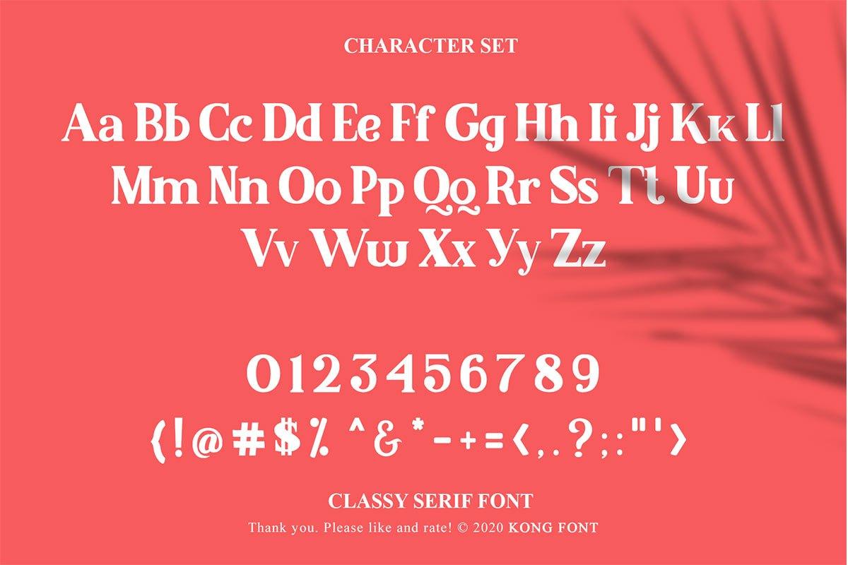 Malcolm Classy Serif Font-3