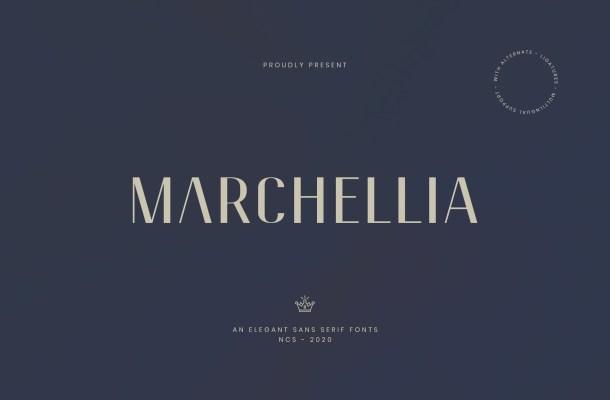 Marchellia Sans Serif Font