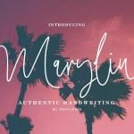 Maryline Handwritten Script Font