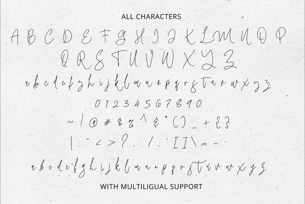 Maryline Handwritten Script Font-3