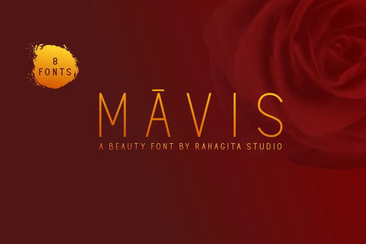 Mavis Beauty Sans Serif Font-1