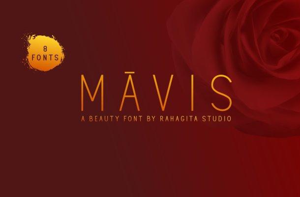 Mavis Beauty Sans Serif Font