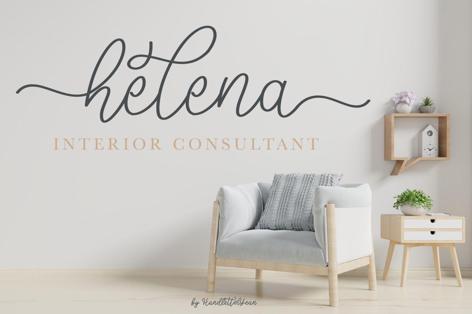 Mellyna Handwritten Script Font-2