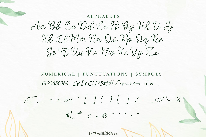 Mellyna Handwritten Script Font-3
