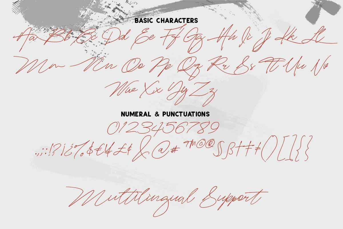 Mightam Handwritten Signature Font-3