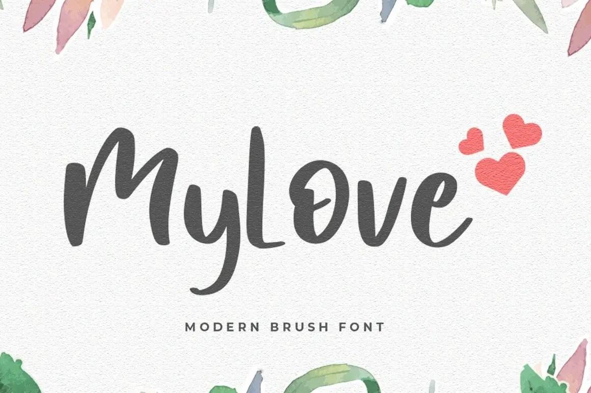 MyLove Display Font-1