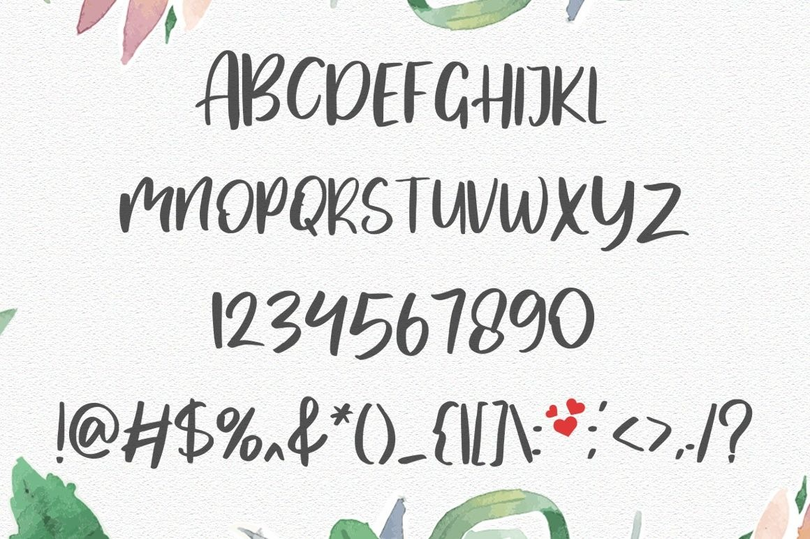 MyLove Display Font-3